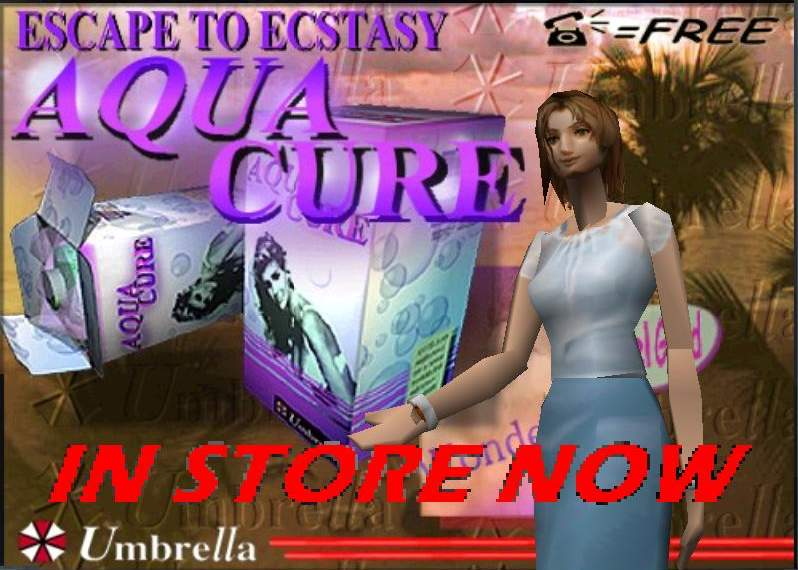Escape to ecstasy : Aqua Cure.