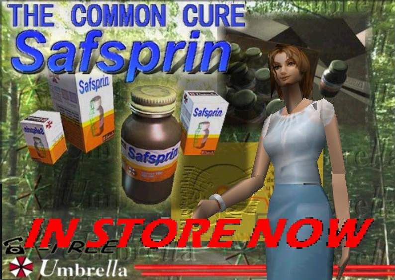 The common cure : Safsprin.